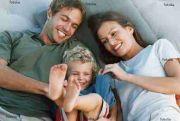 Eine Familiengruppe